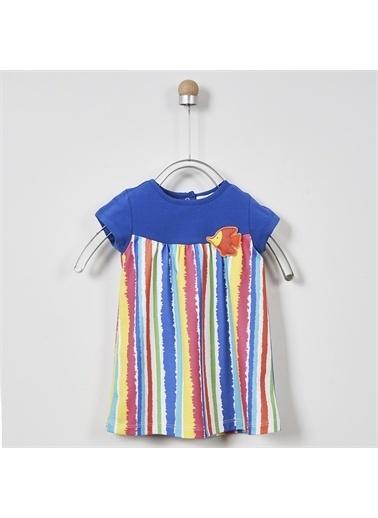 Panço Kız Bebek Elbise 2011GB26003 Mavi